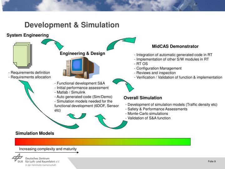 Development & Simulation