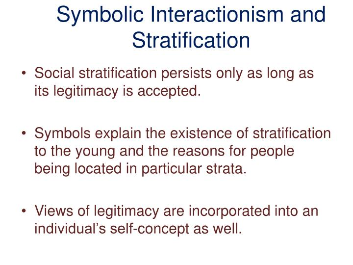 symbolic interactionist view on poverty Chapter six: deviance and social control learning objectives this coincides with the symbolic interactionist view in some cases, an individual need.