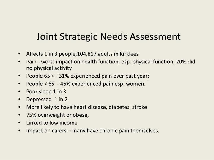 Joint Strategic Needs Assessment