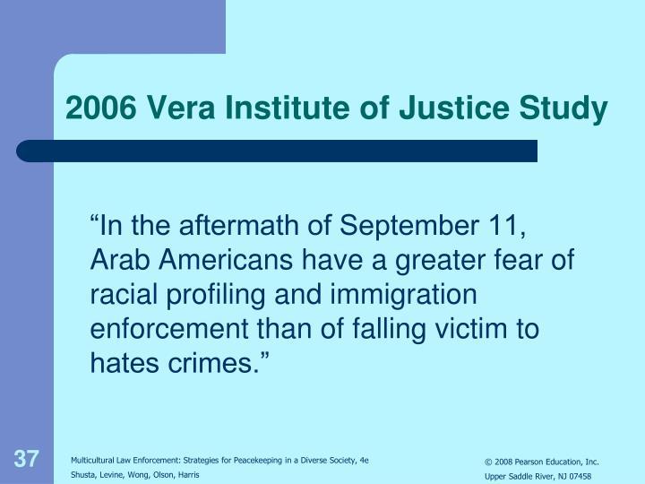2006 Vera Institute of Justice Study