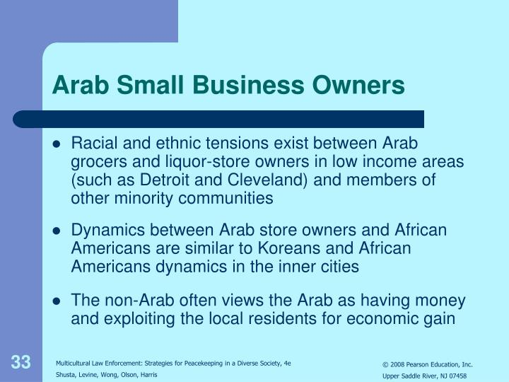 Arab Small Business Owners