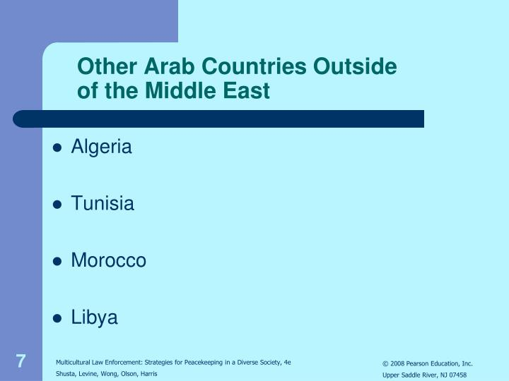 Other Arab Countries Outside