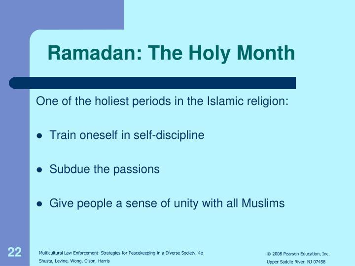 Ramadan: The Holy Month