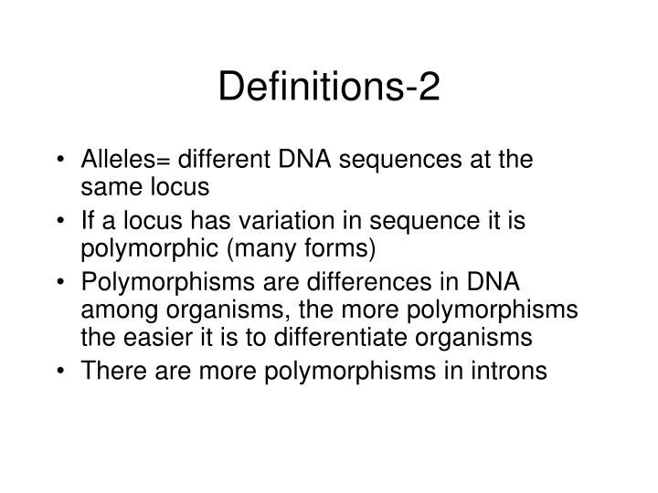 Definitions-2
