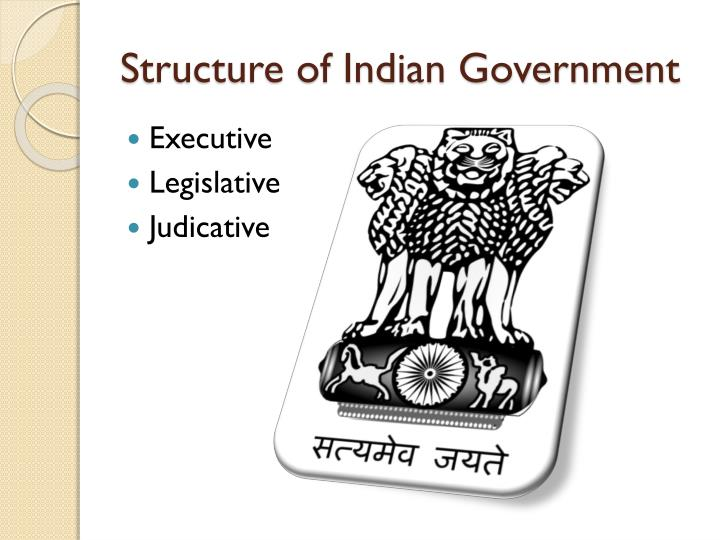 Structure of Indian Government