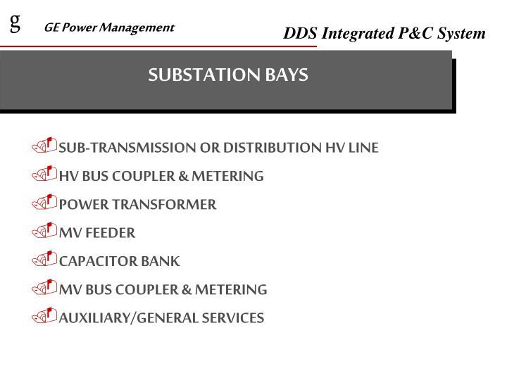 SUBSTATION BAYS