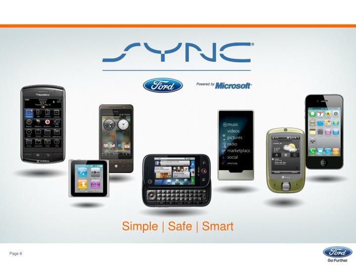 Simple | Safe | Smart