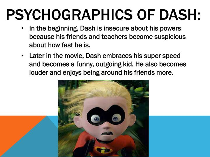 PSYCHOGRAPHICS OF DASH: