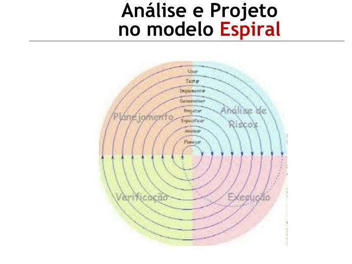 Análise e Projeto