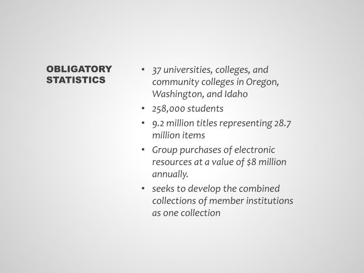 37 universities, colleges, and community colleges in Oregon, Washington, and Idaho