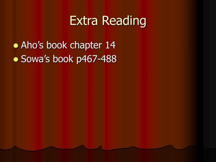 Extra Reading