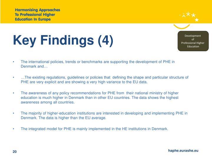 Key Findings (4)