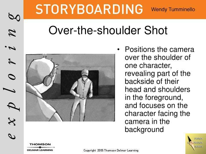 Over-the-shoulder Shot