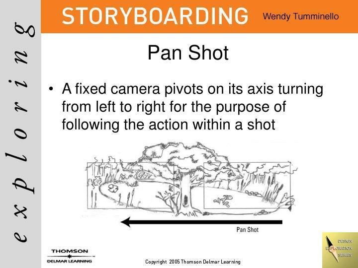 Pan Shot