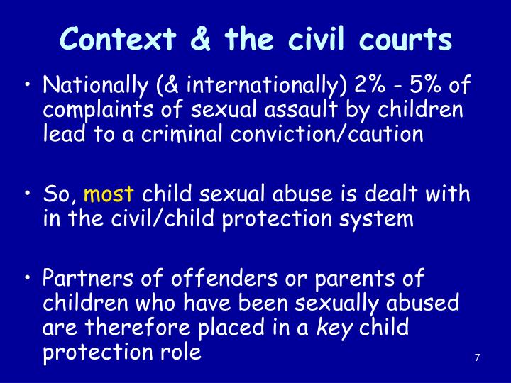 Context & the civil courts