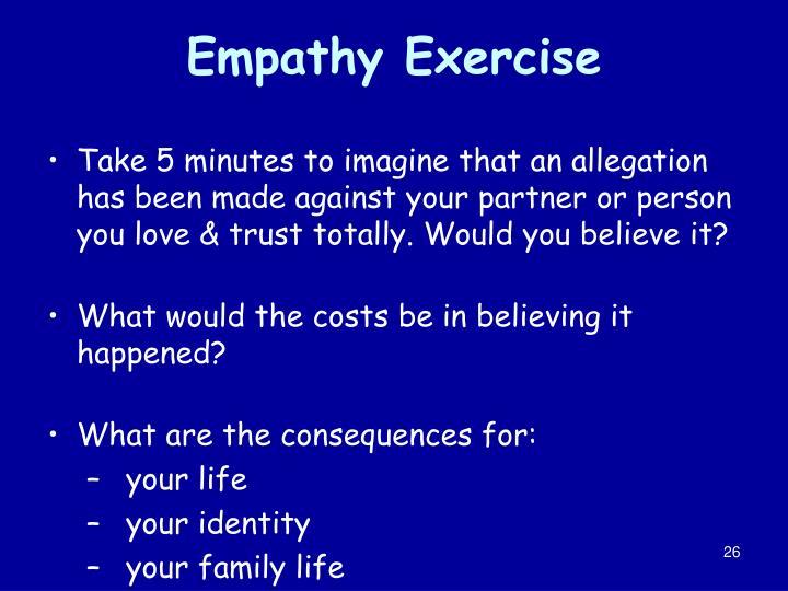 Empathy Exercise