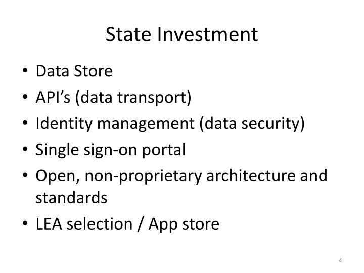State Investment