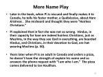 more name play