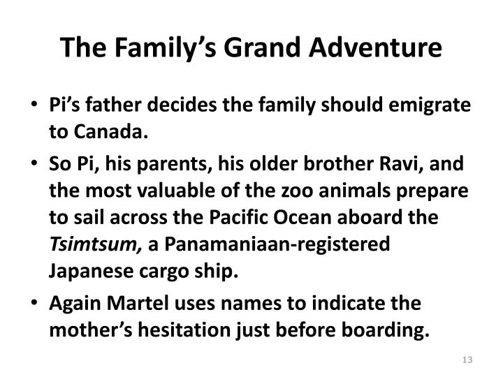 The Family's Grand Adventure