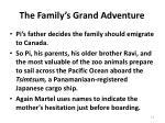 the family s grand adventure