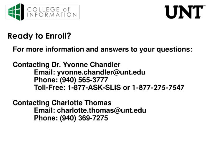 Ready to Enroll?