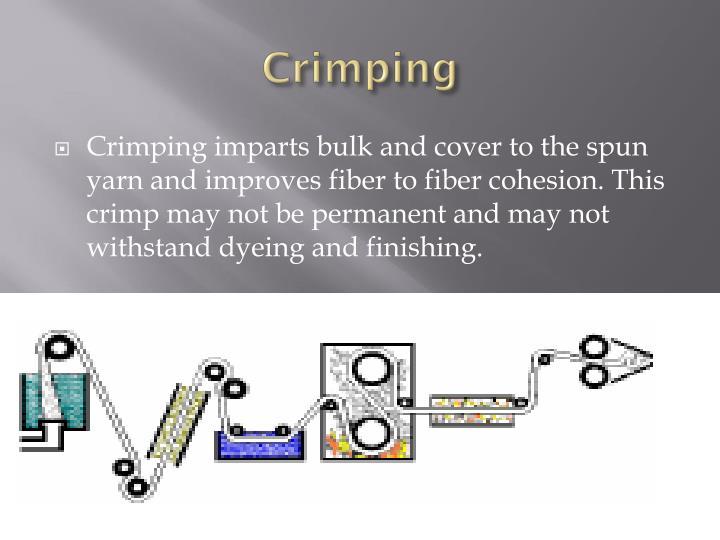 Crimping