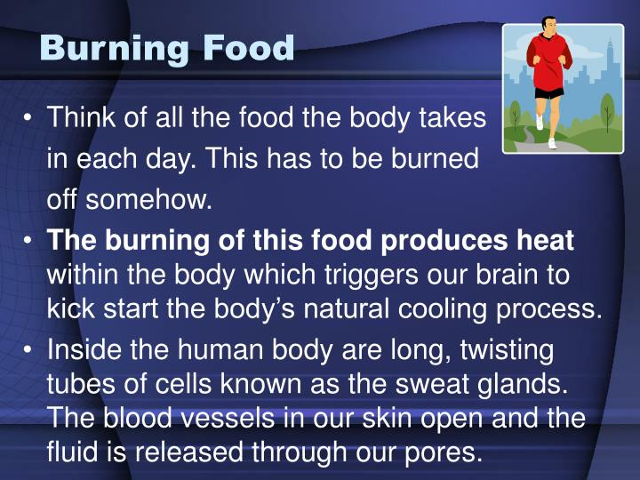 Burning Food