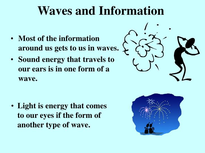 Waves and Information