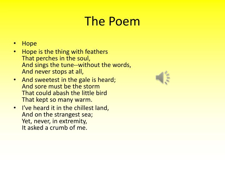 The Poem