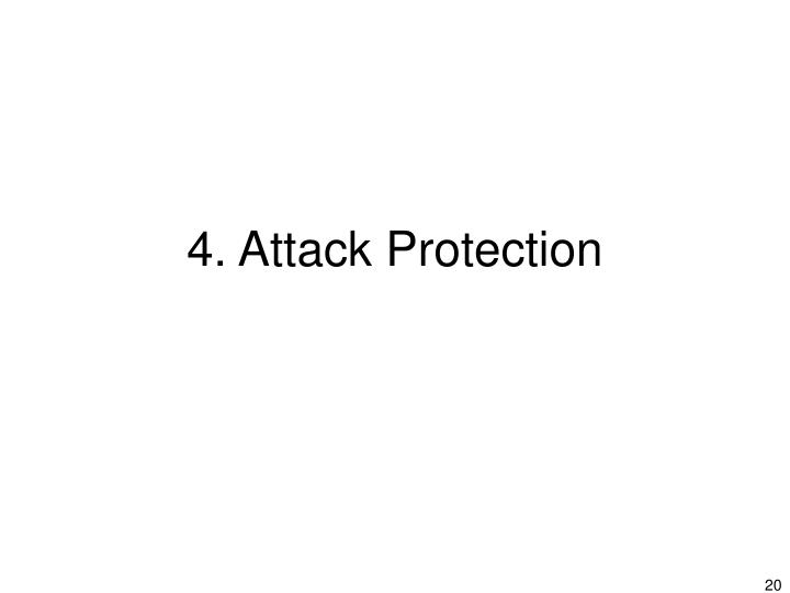 4. Attack Protection