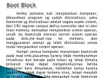 boot block