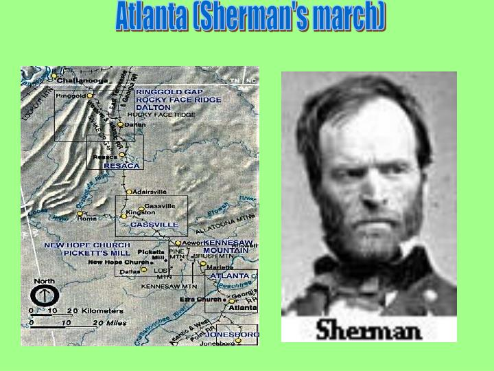 Atlanta (Sherman's march)