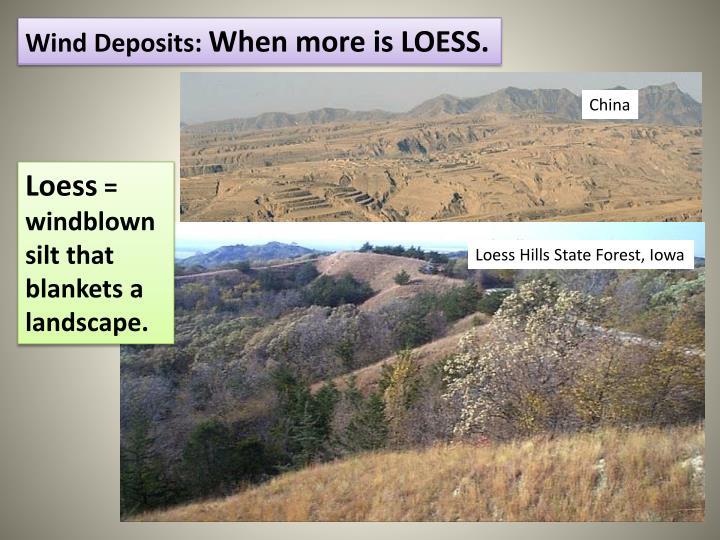 Wind Deposits:
