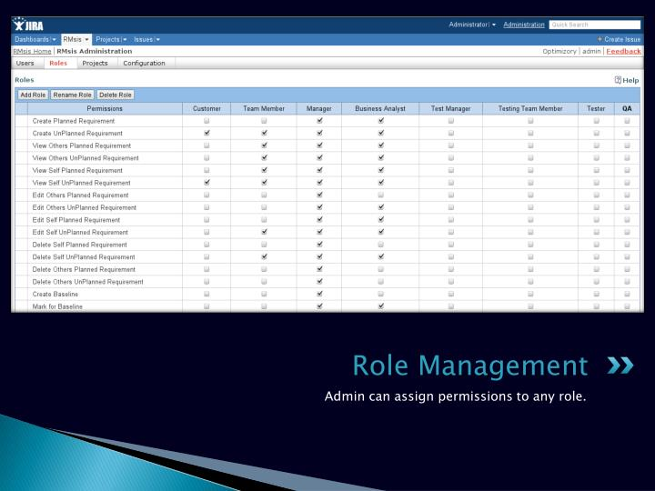 Role Management