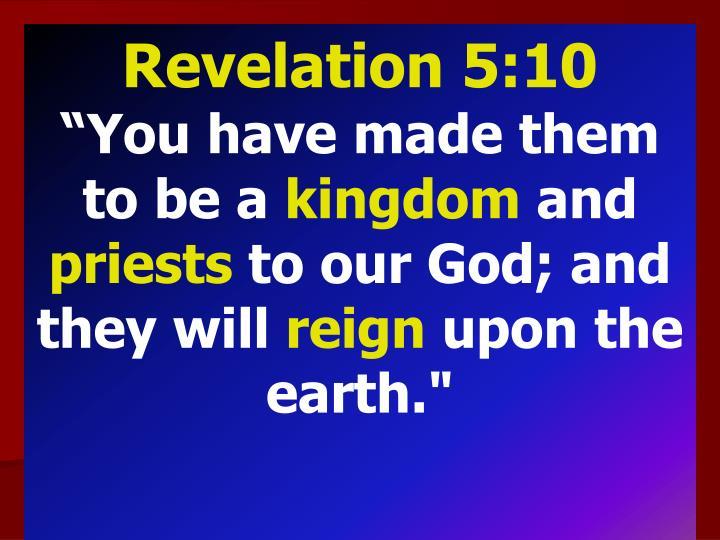 Revelation 5:10