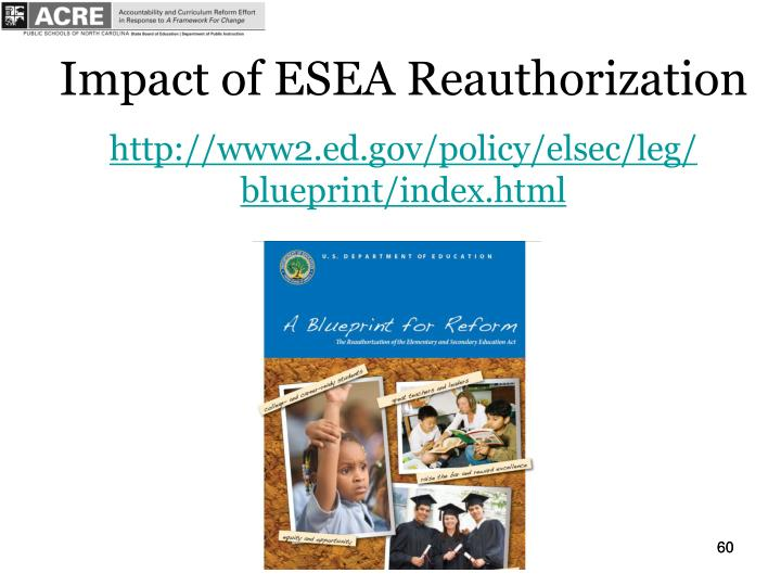 Impact of ESEA Reauthorization