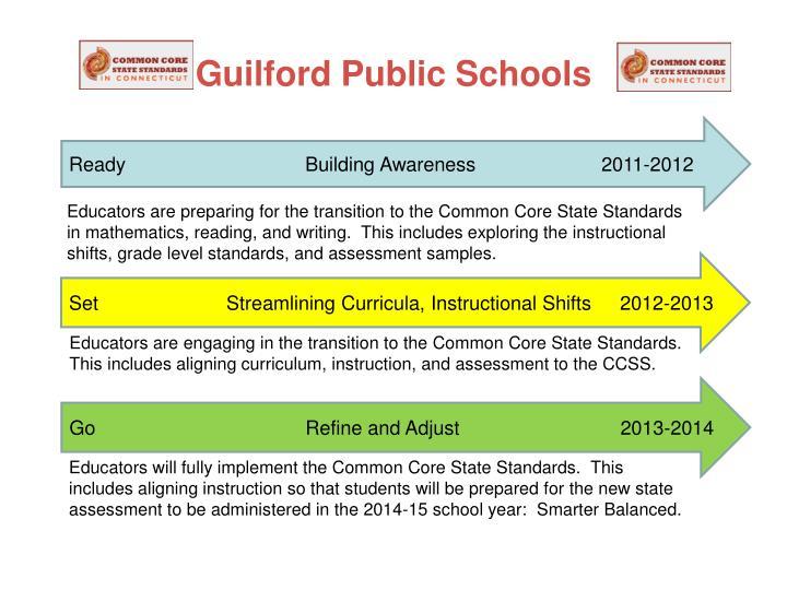 Guilford Public Schools