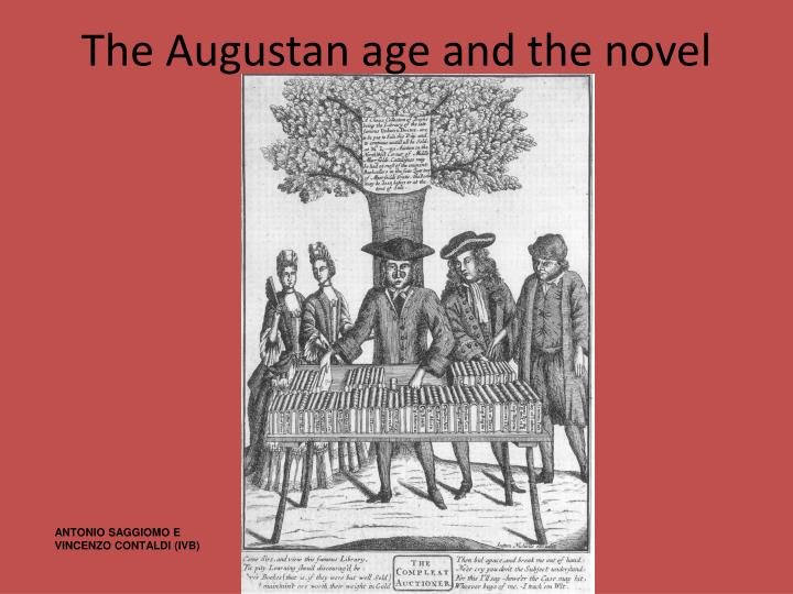 The augustan age and the novel