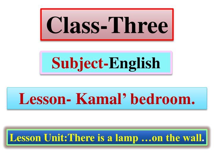 Class-Three