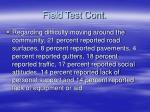 field test cont1