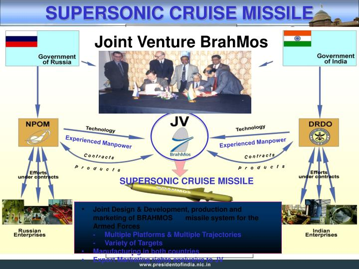 Joint Venture BrahMos