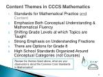 content themes in cccs mathematics1