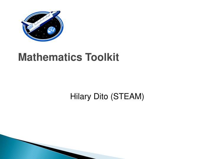 Mathematics Toolkit