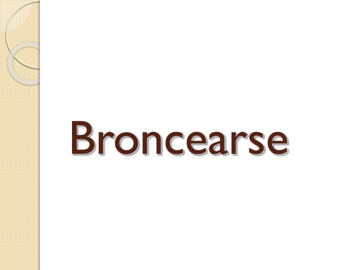 Broncearse