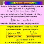 definition of riemann sum