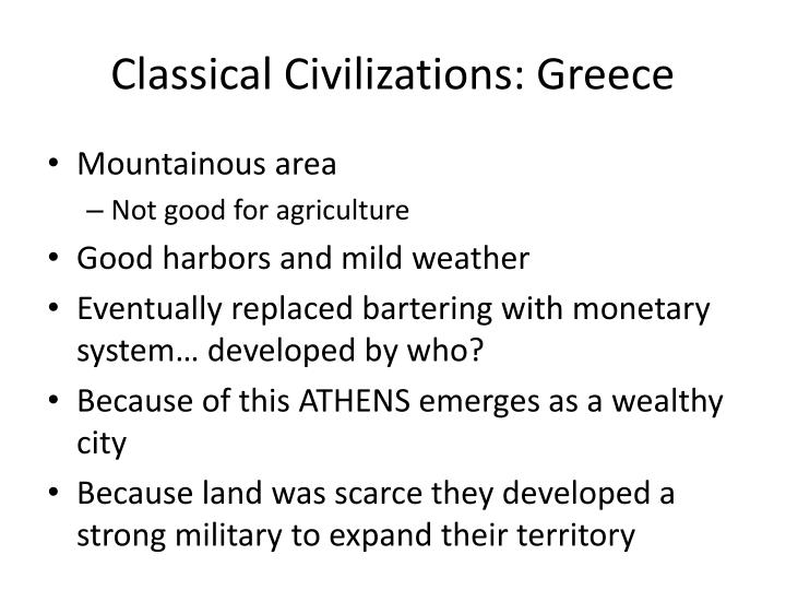 Classical Civilizations: Greece