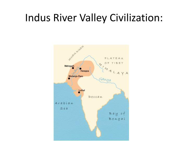 Indus River Valley Civilization: