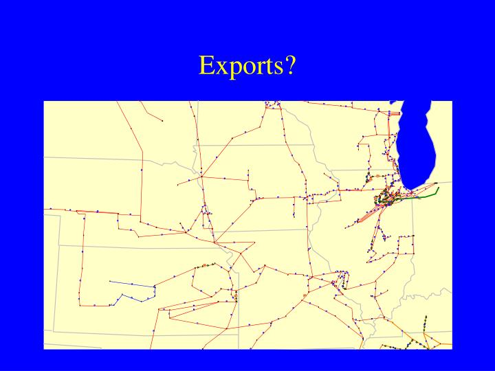 Exports?