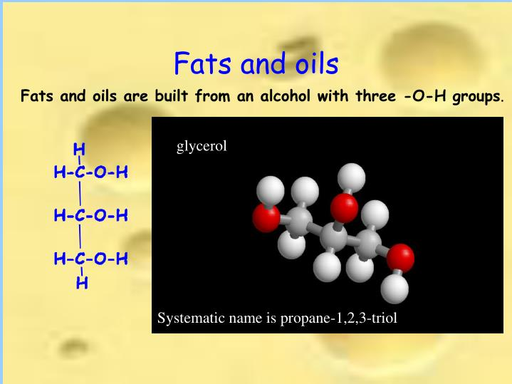 Fats and oils2