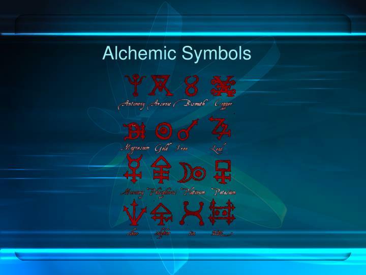 Alchemic Symbols